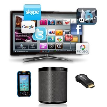 tv enceinte multiroom passerelle multimedia jouet connecte